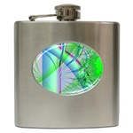 Fractal34 Hip Flask (6 oz)