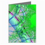 Fractal34 Greeting Cards (Pkg of 8)