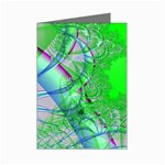 Fractal34 Mini Greeting Cards (Pkg of 8)