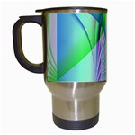 Fractal34 Travel Mug (White)