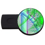 Fractal34 USB Flash Drive Round (4 GB)