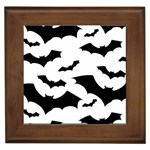 Deathrock Bats Framed Tile