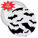 Deathrock Bats 3  Button (10 pack)