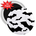 Deathrock Bats 3  Magnet (10 pack)