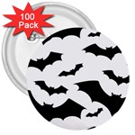Deathrock Bats 3  Button (100 pack)