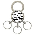 Deathrock Bats 3-Ring Key Chain