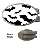 Deathrock Bats Money Clip (Oval)
