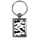 Deathrock Bats Key Chain (Rectangle)
