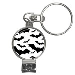 Deathrock Bats Nail Clippers Key Chain
