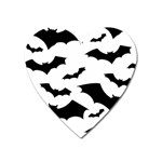 Deathrock Bats Magnet (Heart)