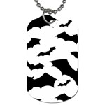Deathrock Bats Dog Tag (One Side)