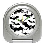 Deathrock Bats Travel Alarm Clock