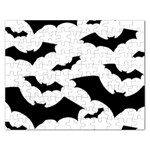 Deathrock Bats Jigsaw Puzzle (Rectangular)