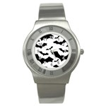Deathrock Bats Stainless Steel Watch