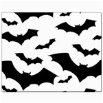 Deathrock Bats Canvas 8  x 10
