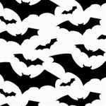 Deathrock Bats Canvas 12  x 12