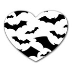 Deathrock Bats Mousepad (Heart)