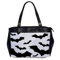 Deathrock Bats Oversize Office Handbag (One Side) from ArtsNow.com Front