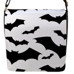 Deathrock Bats Flap closure messenger bag (Small)