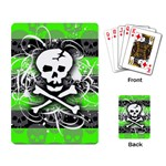 Deathrock Skull Playing Cards Single Design