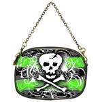 Deathrock Skull Chain Purse (One Side)