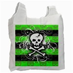 Deathrock Skull Recycle Bag (One Side)