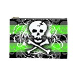 Deathrock Skull Cosmetic Bag (Large)