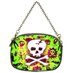Deathrock Skull & Crossbones Chain Purse (Two Sides) from ArtsNow.com Front