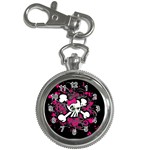 Girly Skull & Crossbones Key Chain Watch
