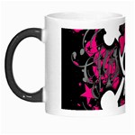 Girly Skull & Crossbones Morph Mug