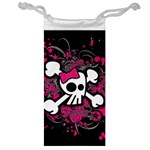 Girly Skull & Crossbones Jewelry Bag
