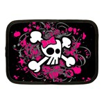 Girly Skull & Crossbones Netbook Case (Medium)