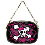 Girly Skull & Crossbones Chain Purse (Two Sides)