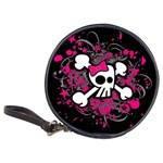 Girly Skull & Crossbones Classic 20-CD Wallet
