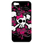 Girly Skull & Crossbones Apple iPhone 5 Hardshell Case