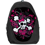Girly Skull & Crossbones Backpack Bag