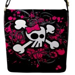 Girly Skull & Crossbones Removable Flap Cover (Small)