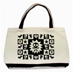 Gothic Punk Skull Classic Tote Bag (Two Sides)