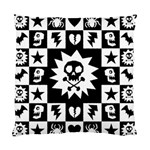 Gothic Punk Skull Cushion Case (One Side)