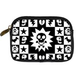 Gothic Punk Skull Digital Camera Leather Case