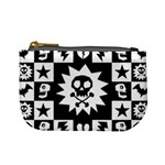 Gothic Punk Skull Mini Coin Purse