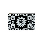 Gothic Punk Skull Cosmetic Bag (Small)