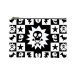 Gothic Punk Skull Cosmetic Bag (Large)