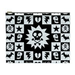Gothic Punk Skull Cosmetic Bag (XL)