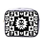 Gothic Punk Skull Mini Toiletries Bag (One Side)