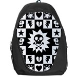 Gothic Punk Skull Backpack Bag