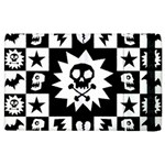 Gothic Punk Skull Apple iPad 3/4 Flip Case