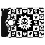 Gothic Punk Skull Apple iPad Mini Flip 360 Case