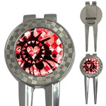 Love Heart Splatter 3-in-1 Golf Divot
