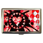 Love Heart Splatter Cigarette Money Case